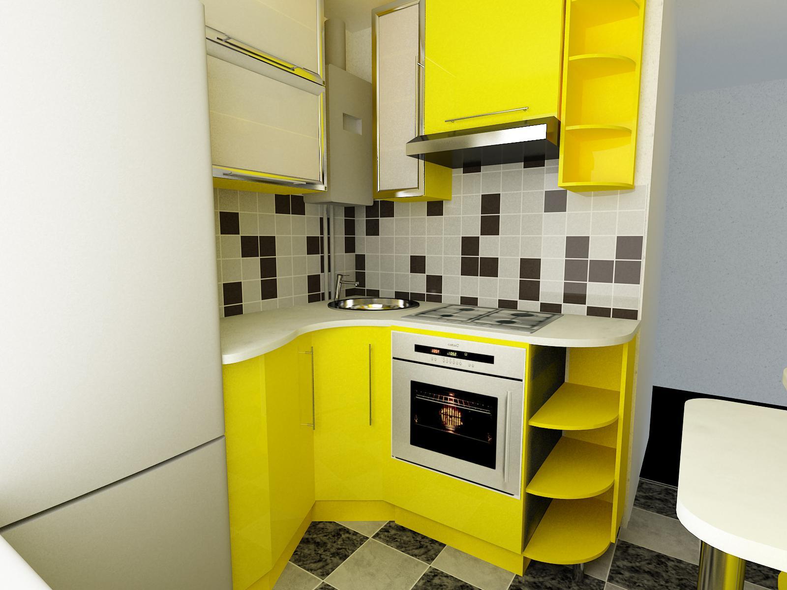 Идеи для кухни 6 кв.м в хрущевке фото