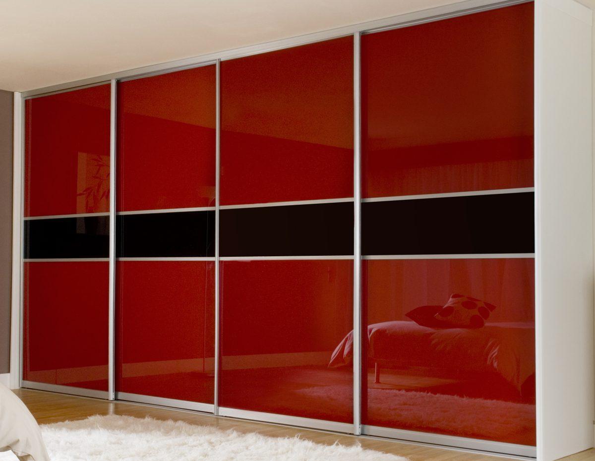 Дизайн шкафа купе стекло